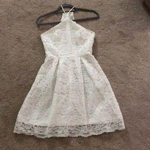 Small White Lace Flower Francesca's Dress